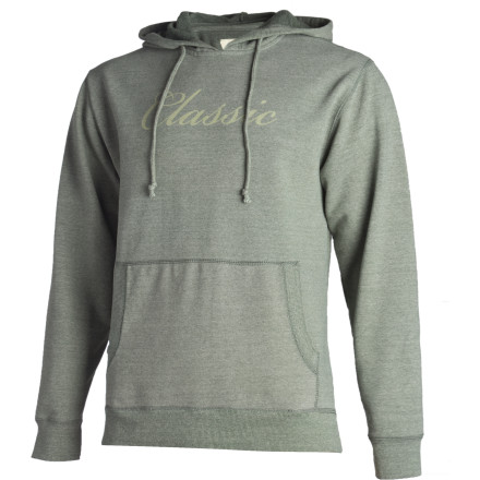 The Amongst Friends Classic Hoody proves that being labeled as vintage doesn't have to mean you're relegated to social dust shelves. In fact, the combination of your sense of style and the fact that you occasionally wrap yourself in glowsticks before party appearances makes you anything but 'classic.' - $43.98