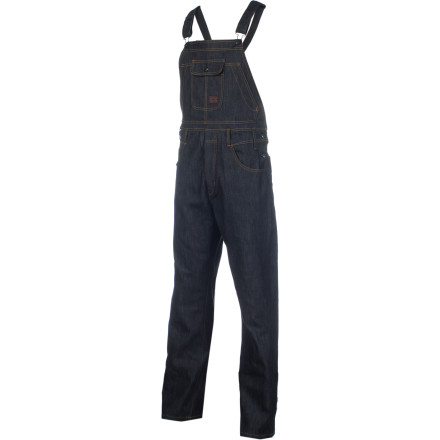 Snowboard It's been ten years since you fell off the hay truck and into your life of snowboarding, dish-washing, and general debauchery, but the Analog Warren Overall Pant helps you remember where you came from ... and why you can never go back. - $81.22