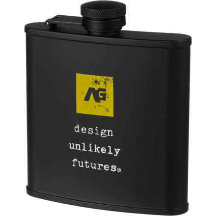 Analog gave the Contraband Flask an ounce of volume for every bad decision you're going to make after draining your devil's brew from this stainless steel container. Now we're talking. - $16.47