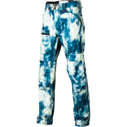 Snowboard Ultra-baggy snowboard pants were fun for a while, but now you crave a better fit. Luckily, the Analog Thievery Pants serve up a modern, tapered cut that will look great on the mountain. Throw these pants on when you want a clean, slick look that will set you apart from the crowd. - $76.48