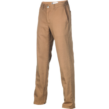 The Analog Apex ATF Men's Chino Pant hooks up clean streetwear style with a side of stealth tech. Chino styling and a regular fit gives it the look of a normal pant, while the cozy flannel lining and water-resistant DWR treatment keep you warm and shielded from the elements. - $56.23