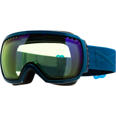 Ski You shredders with smaller frames don't have to fret thanks to the Anon Comrade Asian Fit Goggle. This goggle brings the same kick-ass visibility and style combined with a little eastern twist (the frame is slightly smaller overall). - $77.97