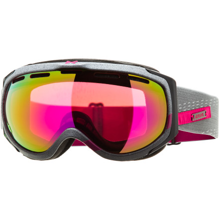 Snowboard The Anon Women's Haven Goggle offers an extended view of the mountain before you while providing sophisticated charm and a women-specific fit preferred by Anon's shred-fatale Gabi Viteri. - $77.97