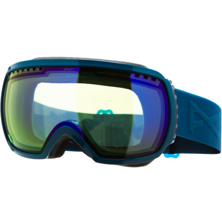 Ski The largest frame in Anon's goggle line, the Comrade offers more peripheral visibility than you could have ever imagined. Its spherical lens enables you to catch patrol opening up a previously closed section out of the corner of your eye while others blaze on by, while the Comrade's stellar venting gives you clear, fog-free vision all day long. - $77.97