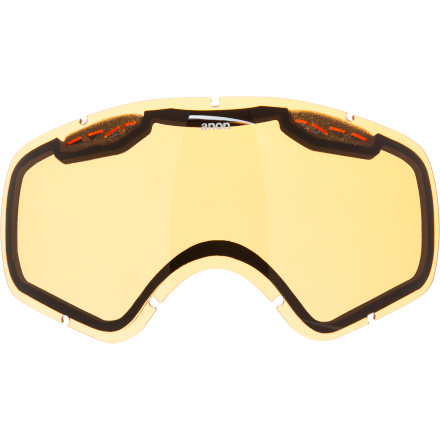 Ski If you've ever done a bit of bushwacking and taken more than a few branches to the face, then you'll be glad for the Anon Realm Replacement Goggle Lens. - $23.97