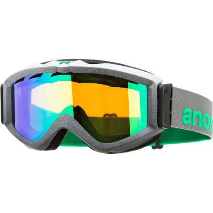 Snowboard An old prophesy foretold of the Anon Figment Goggle and its stupendous style and clarity long before snowboarding even existed. While some scholars debate this, one thing that cannot be argued is the Figment's high-quality construction and low-profile aesthetics. - $44.97