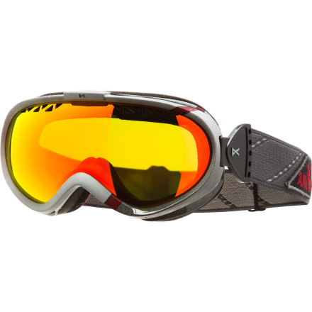 Snowboard Why deal with oversized goggles that encompass your entire face when Anon designed the Solace Goggles just for ladies and small riders Its slim frame profile gives you that just-right fit you've been longing for. Panoramic goggle lens allows you to spot branches and rocks that threaten to kill your buzz, while the anti-fog tech keeps your riding chill and your vision clear. - $71.97