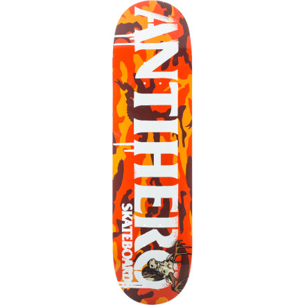 Skateboard Grab life by the horns with the Anti-Hero Cowhorn Skate Deck. And if you really want to get wild, grab the actual horns of a bulljust be sure to be wearing a good pair of running shoes when you do. - $34.97
