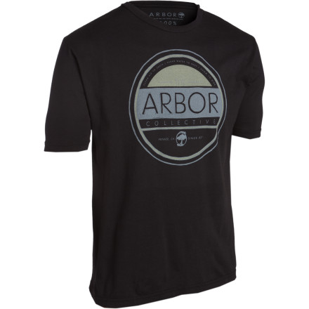 Wearing the 100% organic cotton Arbor Union T-Shirt is as good for the environment as recycling or driving an electric car. Especially if you wear it while you wear it or drive an electric car. Nobody else will be able to tell, but your new self-righteous smugness will be priceless. - $22.36