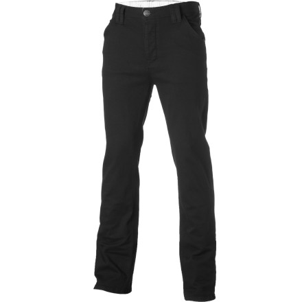 Entertainment With a cotton, bamboo-based fiber and a spandex blend, the Arbor Men's Burnside Denim Pant is bound to be your go-to pant for both skating and casual affairs. Bounce from the house with deck in tow and roll to class, work, or the skatepark with stretch-infused style. Life's too short to dress poorly. - $73.95