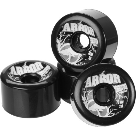 Skateboard Old wheels looking more like traffic cones these days Pick up the Arbor Street Series Wheels and enjoy your newly restored ride. - $31.96