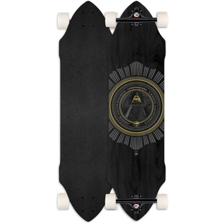 Skateboard Arbor's team-developed Vugenhausen Longboard was built for speed, speed, and more speed. A stiff, responsive flex prevents feeling squirrely when you get moving, and the deck's built-in gas pedals help you maintain precise control through drifts and speed-check slides. - $183.96
