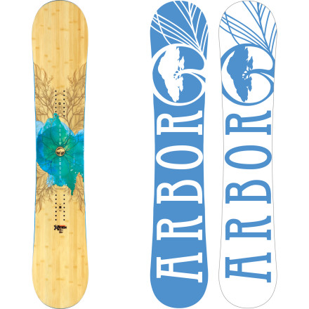 Snowboard One run on the Arbor Swoon Women's Snowboard and you'll be head over heels for it. That's because it rips through pow and hardpack alike with ease thanks to the Mountain System rocker and Grip Tech sidecut, so you're good to go no matter where you're riding. - $275.97