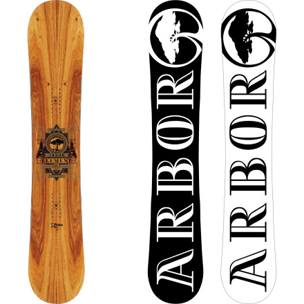 Snowboard The Arbor Element RX Snowboard tends to react violently when mixed with fresh pow and freeride terrain. It destroys snow on contact by throwing overhead slashes, ripping chutes, and stomping cliffs due to its Mountain System rocker, which gives it the float needed to stay on top of pow. However, it's constructed with sustainably-harvested wood to reduce its impact on the environment, so the mountains aren't permanently harmed from the thrashing you just gave them. - $335.97