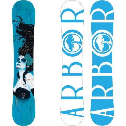 Snowboard Just because you're riding outside the park doesn't mean you can't do tricks. The Arbor Cadence Women's Snowboard is an AMJ (all-mountain jibbing) machine designed to help you launch, spin, and butter your way across the entire mountain. Park System rocker is fun and forgiving when you want it to be, but holds a mean edge for confident turns when you need it. From popping off side hits and buttering knolls to sending booters and crushing rails, the Cadence has you covered. - $399.95