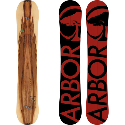 Snowboard When the resort is tracked out and most riders have migrated back to the park, you can keep chasing endless pow on the Arbor Abacus Split Snowboard. Featuring Pow System rocker for effortless float in powder, it was meant to be taken far off the beaten path. Unlike the splitboards of yesteryear that couldn't handle too gnarly a run, the Abacus crushes hairy lines and big drops with ease thanks to Karakoram hardware which makes it ride as solidly as any one-piece board. - $489.97