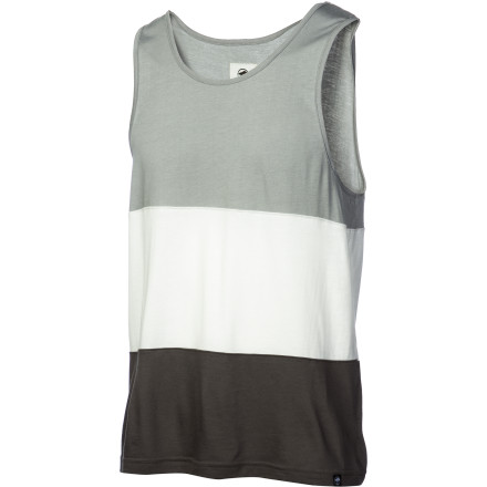 Surf Arbor created the lightweight Tritone Tank Top with super-soft viscose from bamboo and organic cotton. Besides being supremely soft, this fabric is made with renewable resources and doesn't require tons of chemical waste to create. It's a feel-good tank that helps the planet too. - $33.95