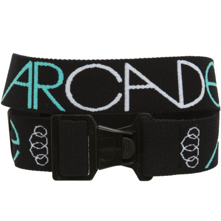 Arcade's Standard Belt utilizes high tensile elastic and commercial grade plastic to provide a rugged and stylish design that is the standard for every outdoor pursuit of yours, from shredding slopes to base jumping. - $21.95