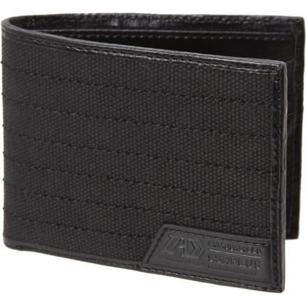 Entertainment You've got yourself the Armourdillo Surplus Bifold Wallet, now you just need some surplus cash. - $24.95