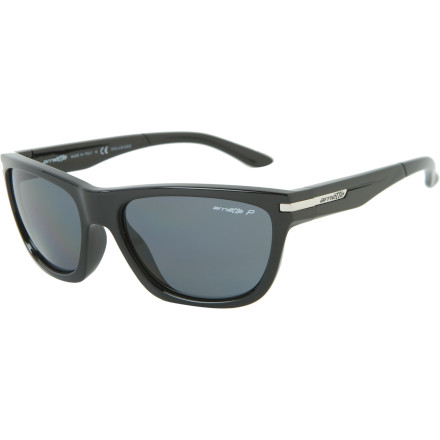 Entertainment You're not really supposed to cross the streams, but should you do it anyway, the 6D-base polycarbonate polarized lens in the Arnette Venkman Polarized Sunglasses might be a good thing with which to shield your peepers. - $119.95