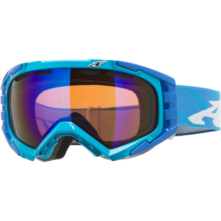 Snowboard You were hired to slay, and with the Arnette Mercenary Goggle, slay you shall. Just watch out for the other slayers out therepowder assassins are everywhere. With crystal clear optics, supreme venting, and a comfortable foam lining, these goggles will give you a leg up (hurricane kick!) on the competition. - $53.97
