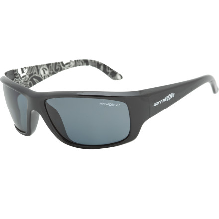 Entertainment Don't let glare throw off your game. The Arnette Cheat Sheet Polarized Sunglasses cut down on glare in bright environments to keep you looking sharp, not squinty. - $99.95