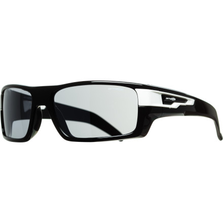 Entertainment Keep your bloodshot eyes away from the paparazzi with the Arnette After Party Sunglasses. The ACES Collection edition features snap-out temple accents and includes two pair to let you customize your look. - $99.95