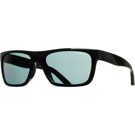Entertainment The Arnette Dropout Polarized sunglasses feature a classic throwback shape and the all-new A.C.E.S. system for mix-and-match customization. - $119.95