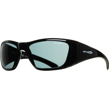 Entertainment With a super-oversized wraparound design and a glare-blocking polarized lens, the Arnette Rage XXL Polarized Sunglasses offer total protection even in extremely bright conditions. This A.C.E.S. Collection edition features snap-off color accents for mix-and-matchable style. - $99.95