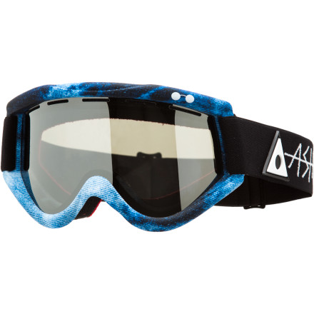 Ski When Ashbury introduced the Kaleidoscope Goggle, riders everywhere and the industry as a whole took note. What commanded this neck-snapping attention wasn't space-age dealwhips and next-level doohickeys, it was the Kaleidoscope's attention to detail and simple approach to style. Riders who choose the Kaleidoscope are rewarded with a classic cylindrical lens with a not-so-classic wide range of vision (you never have to see your frame) along with full UV protection and an included lens to accommodate for the inevitable cloud cover. - $56.97
