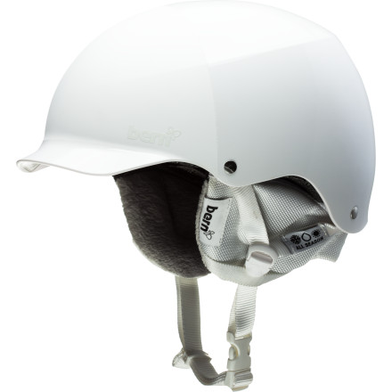Snowboard If your head tends to come in contact with things other than pillows and hairbrushes, you might want to consider the Bern Muse Hard Hat Helmet. This lightweight lid features a cushy Brock Foam interior that, while not certified for severe impacts, can take multiple light to moderate dings without requiring replacement (compare this to Zipmold and EPS foam, which is certified but must be replaced after a single hit). - $59.97
