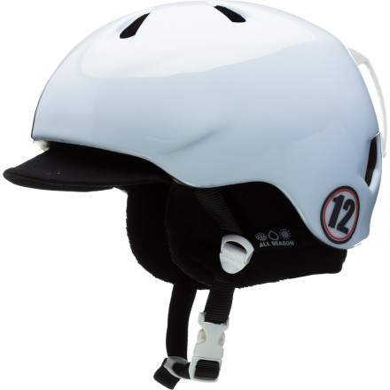 Snowboard Whatever his pursuit of fun isbe it on snow, concrete, or woodthe Bern Boys' Nio Zipmold Helmet offers protection and style he can rock all year long. - $52.46