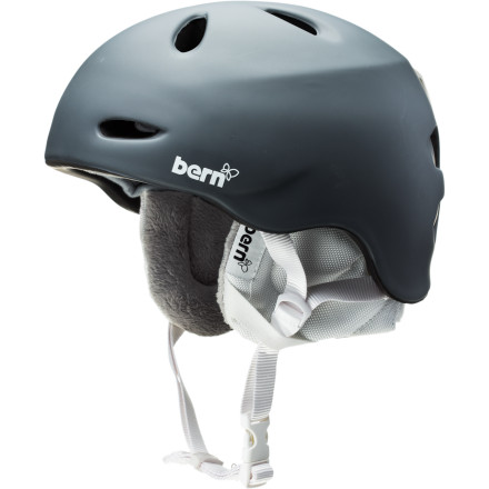 Skateboard The weather changes, your helmet should, too. The Bern Women's Berkeley Helmet comes with a removable liner to allow you to adapt to the changing temperatures over the course of the season or even the course of the day. - $59.97