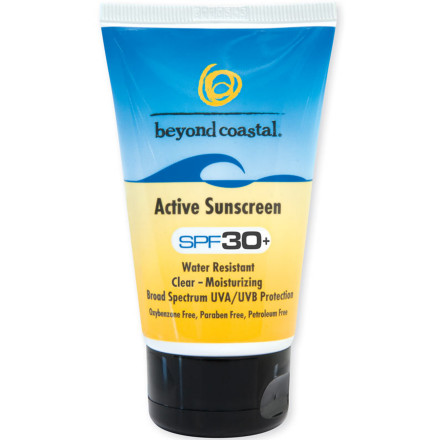 Surf Whether you're snorkeling the Great Barrier Reef or shredding champagne powder, the Beyond Coastal Active SPF 30 Sunscreen protects your skin from the sun's wrath. This sunblock cream blocks harmful UVA and UVB rays with a wide spectrum of UV absorbers. The Active Daily SPF 30 Sunscreen is oil-free, hypoallergenic, and nourishes your skin with vitamins A, C, and E, so it's great of everyday use. - $9.95