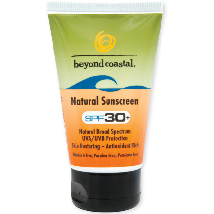 Snowboard Your skin is your largest and most sensitive organ, so instead of slathering some random .99 cent grocery-store sunscreen full of who-knows-what on your face, cover it with Beyond Coastals Natural Sunscreen SPF 30. Aside from protecting your skin from harmful UVA and UVB rays, this sunscreen is also fragrance-, oil-, and paraben-free and comes with natural ingredients to keep your skin looking and feeling well-nurtured. - $13.99