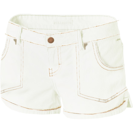 Surf Corduroy shorts are summer staples as much as iced drinks, sunbathing, and flip-flops. Slip into the Billabong Walk On Cord Short and a light tank. Ah. Now it's really summer. - $47.95