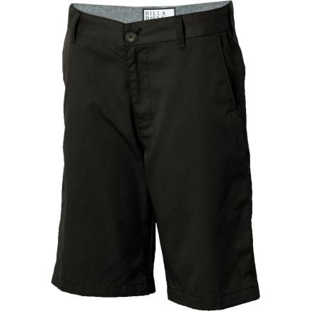 Surf The Boys' Carter Short has a sleek profie that works for dining out with the 'rents in the warmer months, and a discrete welt pocket on the side means you can stay in touch with your crew and check surf reports when nobody's lookin'. - $27.62