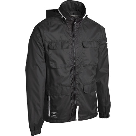 Surf Do you firmly believe that the wind is secretly trying to pry your skin off one microscopic cell at a time Better pick up the Billabong Conspiracy Jacket to stay safe. - $41.22