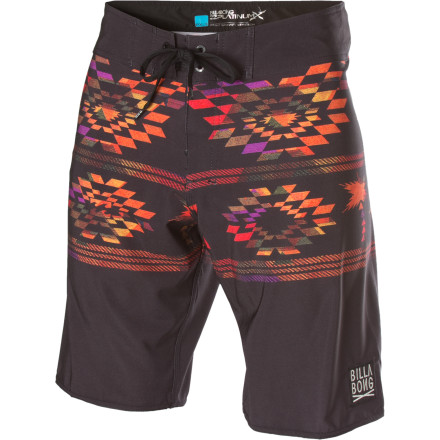 Surf Tread lightly in the Billabong Nomad Board Short. Four-way stretch Platinum Quad X fabric and a slightly shorter 20-inch inseam offer ultimate freedom of movement with no kneecap snags when you stand up on your board. - $29.73