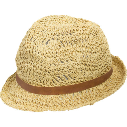 Surf After hours of travel to your secluded beach destination, pull out the Billabong Women's At The Cabana Hat for a fresh, non-weary. - $22.07