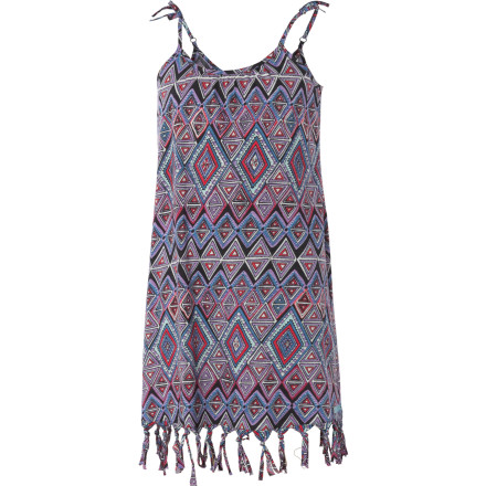 Entertainment The Billabong Girls' Summertime Dress gives your girl a laid-back summer look that is great for hikes along the beach with the fam and neighborhood hangouts with her friends. - $18.67