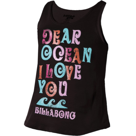 Surf Summer heat calls for cool clothes, and the Billabong Girls' Midtown Situation Tank Top keeps your girl chillin'. - $10.77
