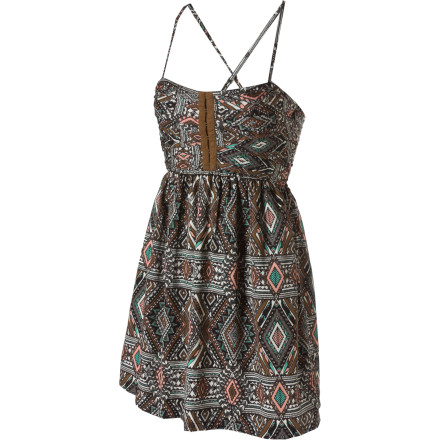 Entertainment The Billabong Odom Dress makes you so excited for summer that you are determined to wear this dress even though summer is months away. Just have one of your slack-jawed admirers follow you around with a space heater and a really long extension cord. - $26.37