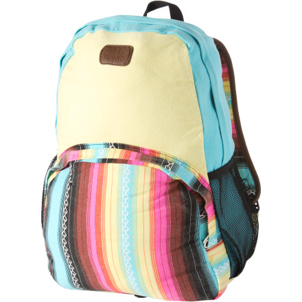 Camp and Hike You cold put school books in your Billabong Women's All Mixed Up Backpack, but that might lead to studying, and we really aren't ready to support that kind of activity. - $37.77