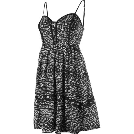 Entertainment The Billabong Tucked Away Dress helps create a look that is short and sexy. Whether it becomes scandalous is up to you and what comes out of your mouth after that third cocktail. - $29.59