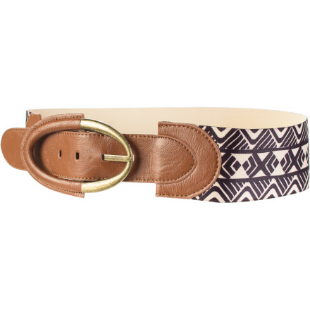 Surf Billabong Gingerly Elastic Belt - Women's - $16.20