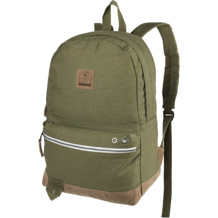 Camp and Hike Simple but true to the spirit of the brand, the Billabong Blitz Backpack serves as your go-to gear stash location during urban assaults on skate parks and empty swimming pools. Durable cotton canvas takes a beating when you have to toss the Blitz over a fence first during junkyard dog run-ins, but that shouldn't stop you from blazing new territory behind 'No Trespassing' signs. - $34.62