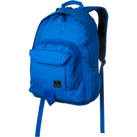 Camp and Hike Billabong's Atom Backpack caters to the young, aspiring skater who has as much energy as a rogue electron. Ideal for storing books, snacks, or a camera for afternoon skate park tricks, the Atom blends simple and classic styling with the attitude and dedication to action sports that distinguish the Billabong brand. - $27.62