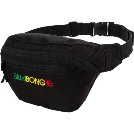 Camp and Hike Keep your camera or other essentials nearby with the Billabong Kuta Waistpack. Built burly to withstand the rough-and-tumble vacation lifestyle, the Kuta takes whatever you throw at, or in, it. - $18.17