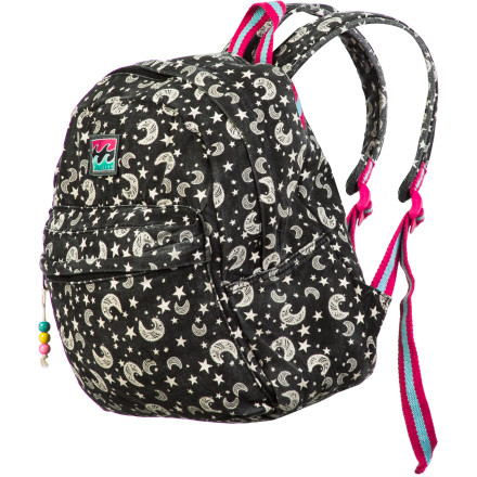 Snowboard The young, on-the-go adventurer needs gear that can keep up, so it's fortunate that Billabong designed the Kids' Take It Or Leave It Backpack. A fun, all-over print adorns this rugged pack that caters to the energetic youth. - $32.17